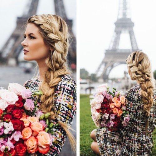 50 лучших причесок с французской косой - модный тренд 2015 года
