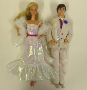 1980 barbie dolls | Vintage 1980's Crystal Barbie and Ken Dolls with Clothes | eBay