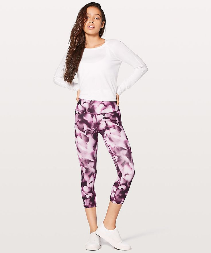 Wunder Under Crop Hi-Rise, Lululemon $99.00    http://www.shopyou.com.au/ #womensfashion #shopyoustyle