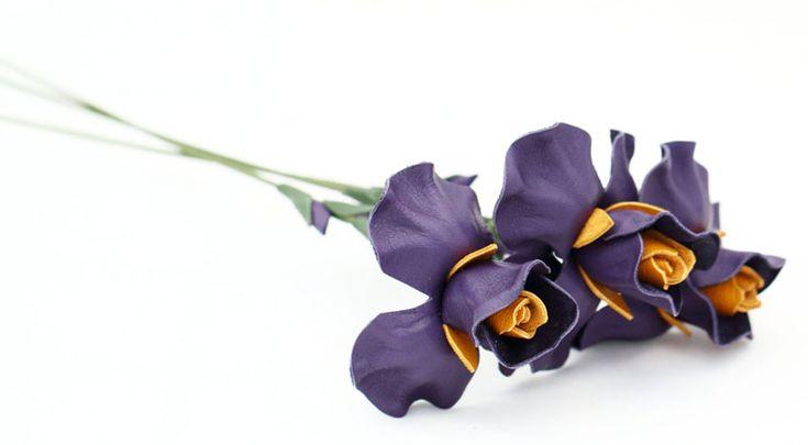 Кожаные цветочки в магазине LearherBlossoms: sees_all_colors