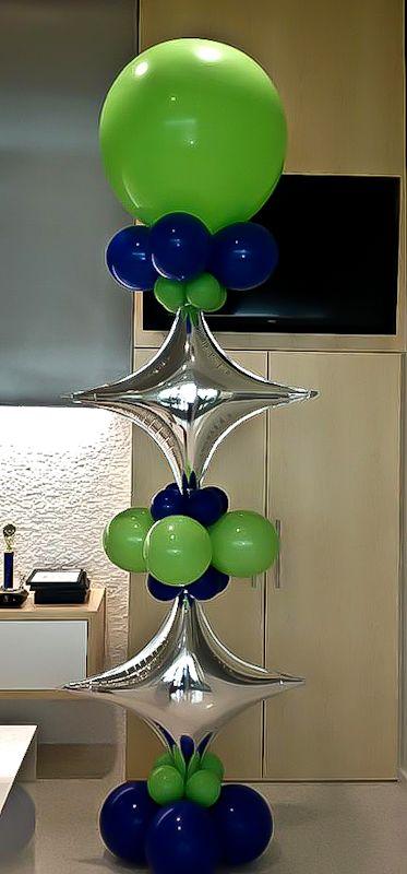 Groovy Balloon Column