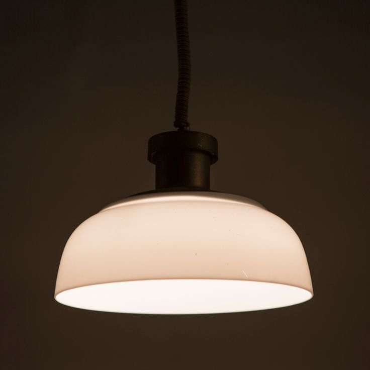 Pair of pendant lamps by Achille Castiglioni for Kartell image 5