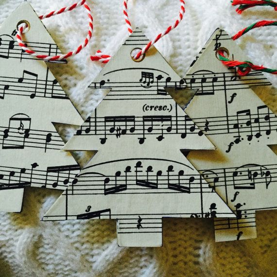 25 Best Ideas About Christmas Sheet Music On Pinterest: 17 Best Ideas About Sheet Music Ornaments On Pinterest