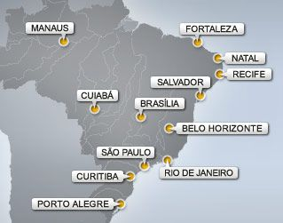 World Cup 2014 Brazil! The biggest party in the world meets the country most famous for partying in the world!