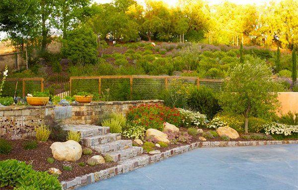 15 Hill Landscape Design Ideas Landscape Design Backyard Landscaping Landscaping With Rocks