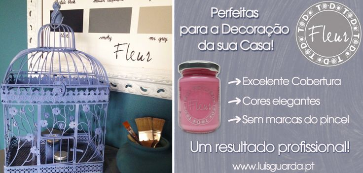 A Primavera chegou ... e a vontade de renovar a casa também! Com as tintas Fleur consiga uma pintura perfeita.  Dê cor aos móveis da sua casa enquanto se diverte com a família!! =>Compre aqui: http://www.luisguarda.pt/produtos/tintas-1/page/9 (venda exclusiva a profissionais) #upcycling #fleur #todo