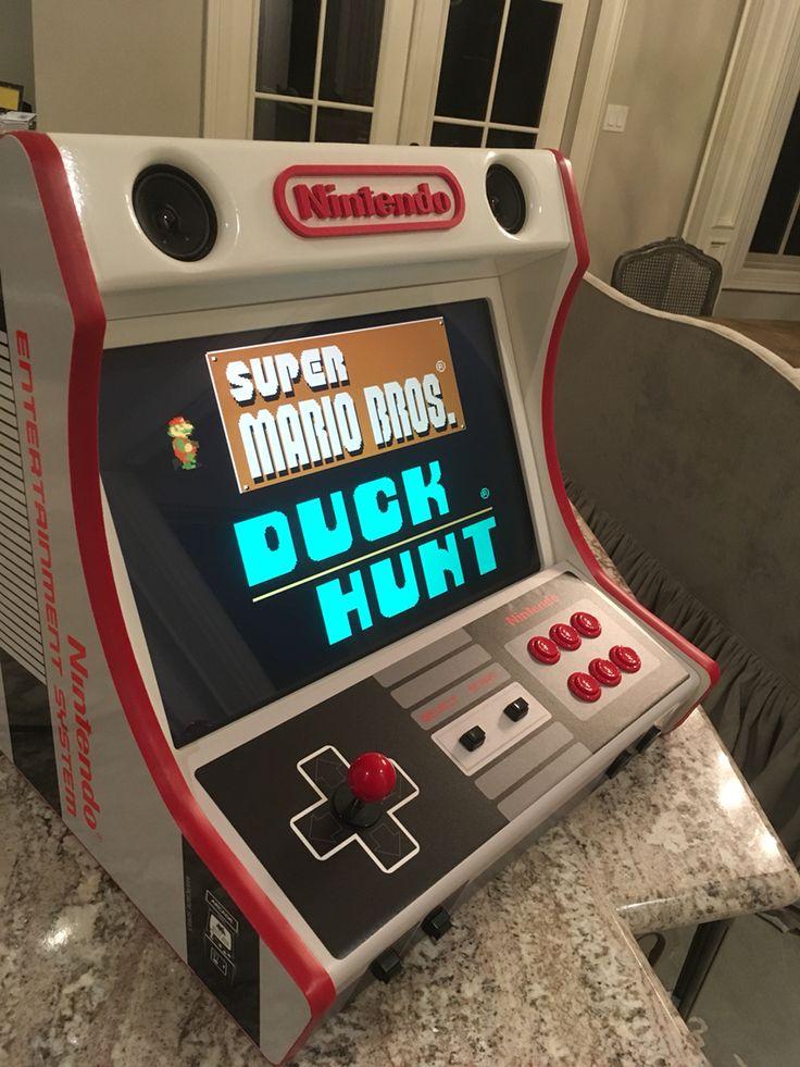 Nintendo Bartop Arcade Powered By Raspberry Pi And