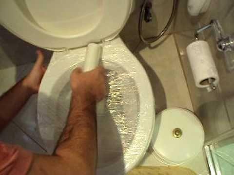 Como desentupir o vaso sanitário - eu já fiz. Super eficiente.