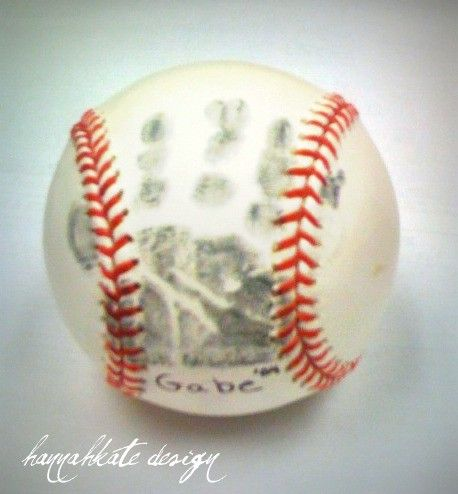 First year of T-ball.  Must remember to do this in a couple of years! Love it!: Hands Prints, Dads Gifts, Gifts Ideas, Baseball, Father Day, Cute Ideas, Baby Boys, Cuteideas, Hand Prints