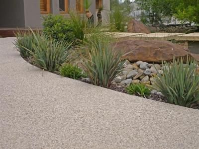 Image detail for -Exposed aggregate Photo : Solid Concrete Services Melbourne VIC