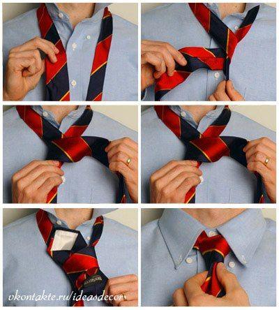 Научись завязывать галстук