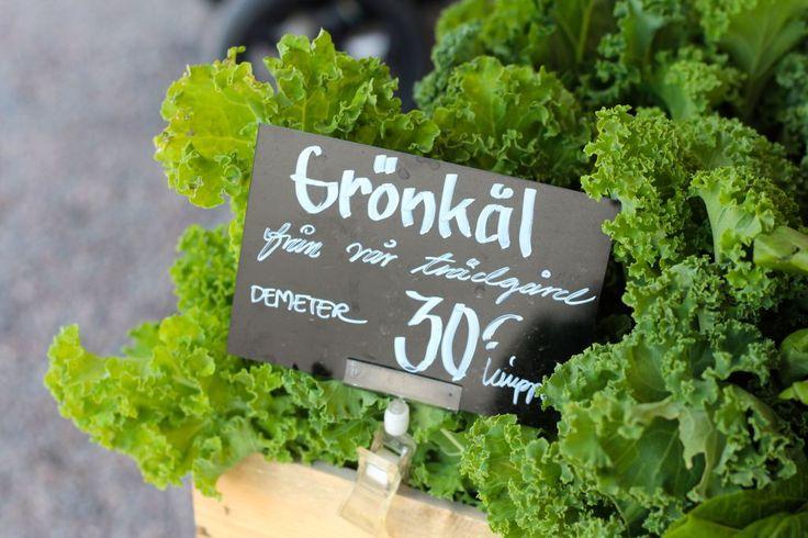 Green cabbage från Rosendahls Trädgård in Stockholm. Photo by: Linda Wenneson
