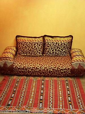 sofa house garden ideas orientalische arabische marokkanische sofa. Black Bedroom Furniture Sets. Home Design Ideas