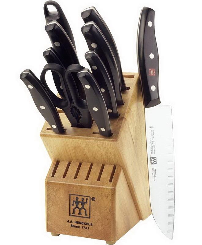 Henckels Zwilling J.A Cutlery Twin Signature 11 Piece Knife Block Set 30768-000