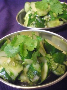 パクチー好きにはたまらない!香菜キュウリ by タケゾー [クックパッド] 簡単おいしいみんなのレシピが243万品