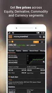 Moneycontrol Markets on Mobile- screenshot thumbnail