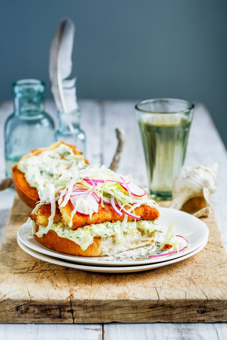 From The Kitchen: The Ultimate Fish Burger