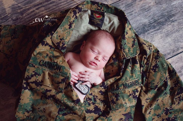 Marine baby. USMC.