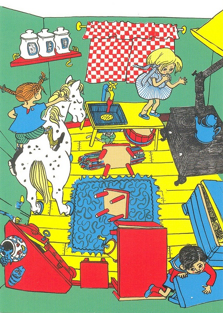 'Pippi Longstocking' (Astrid Lindgren) by Ingrid Vang Nyman