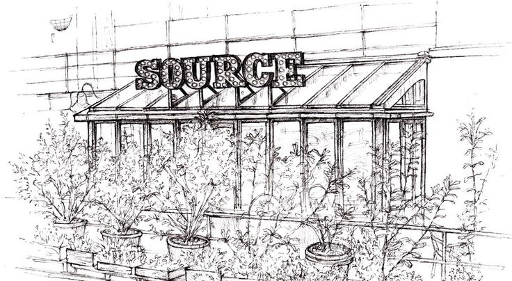 Source Battersea. Sustainable food & good cocktails /unusual