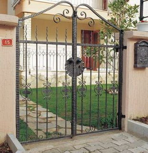 Garden Wrought Iron Gate,Luxury Wrought Iron Gateu0026wrought Iron Gate Designs    Buy Iron Gate,Cheap Wrought Iron Gates,Iron Gates Models Product On  Alibaba. ... Part 85