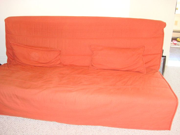 Orange Futon in CRAYOLOS' Garage Sale in Newton , MA for $225. Cozy orange futon that turns into a bed when needed. It is in great condition and it comes with two pillows. An excellent piece of furniture to watch tv.