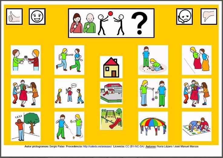 MATERIALES - Tableros de Comunicación de 12 casillas: Juegos populares…