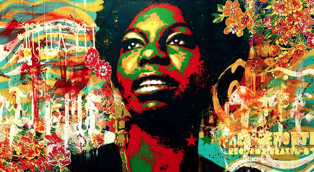 Ms Nina Simone...another amazing chick heroine. <3 <3