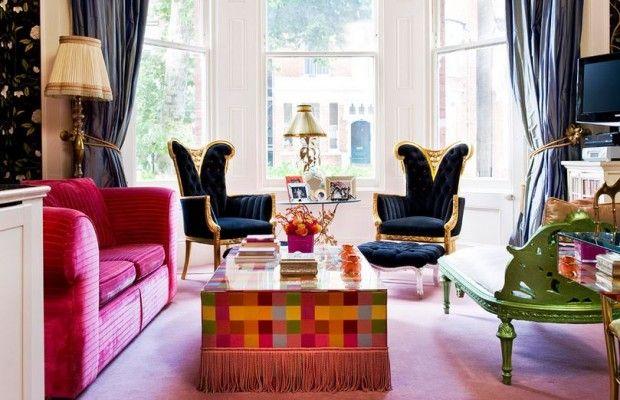 Kuralsız Yaşayın ve Anın Keyfini Çıkarın ! Ev dekorasyonunda 1960 lara dayanan bir akım olarak karş...