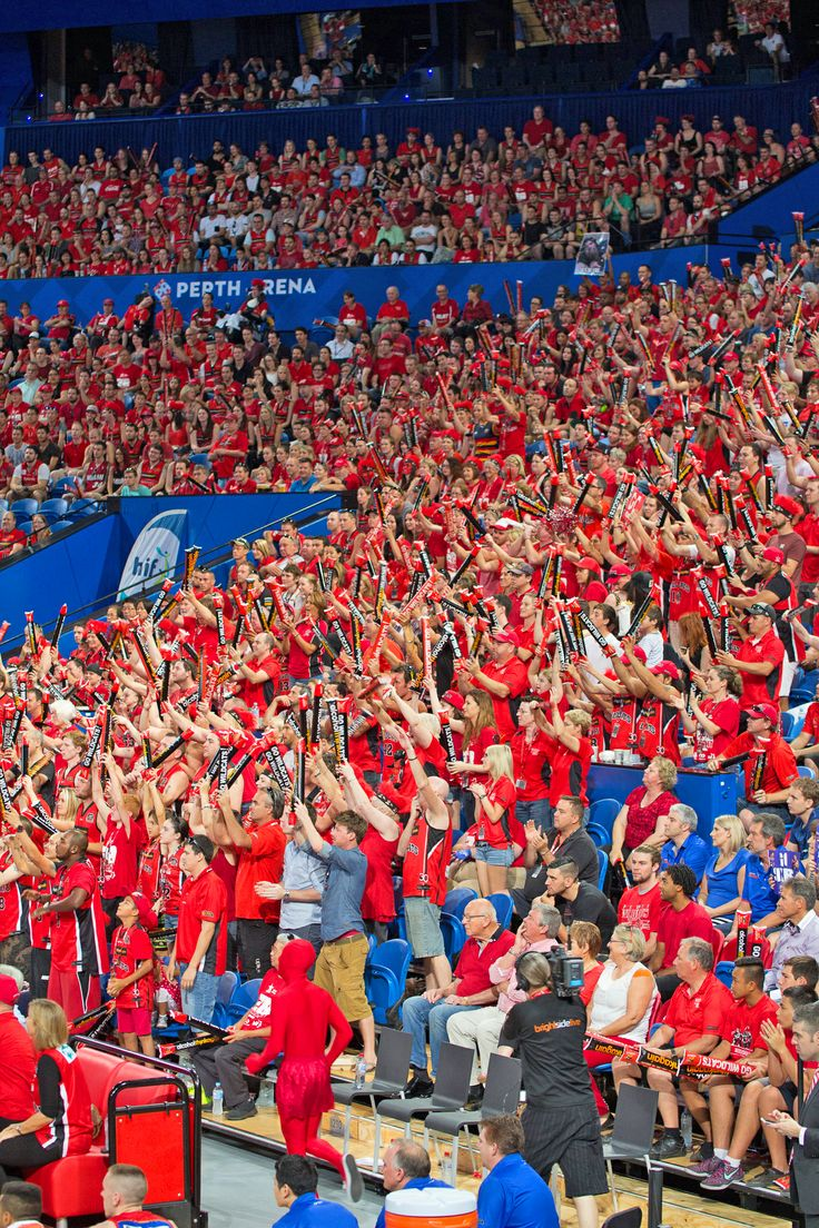 #RedArmy The Perth Wildcat Fans