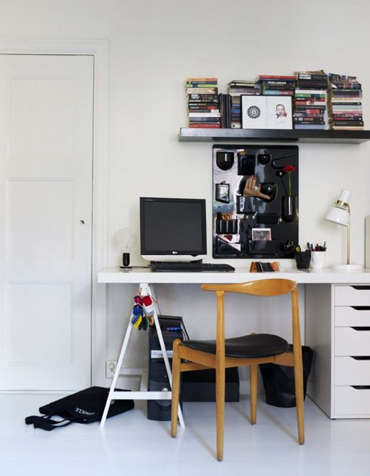 Ikea drawers desks and home office on pinterest for Ikea drawers office