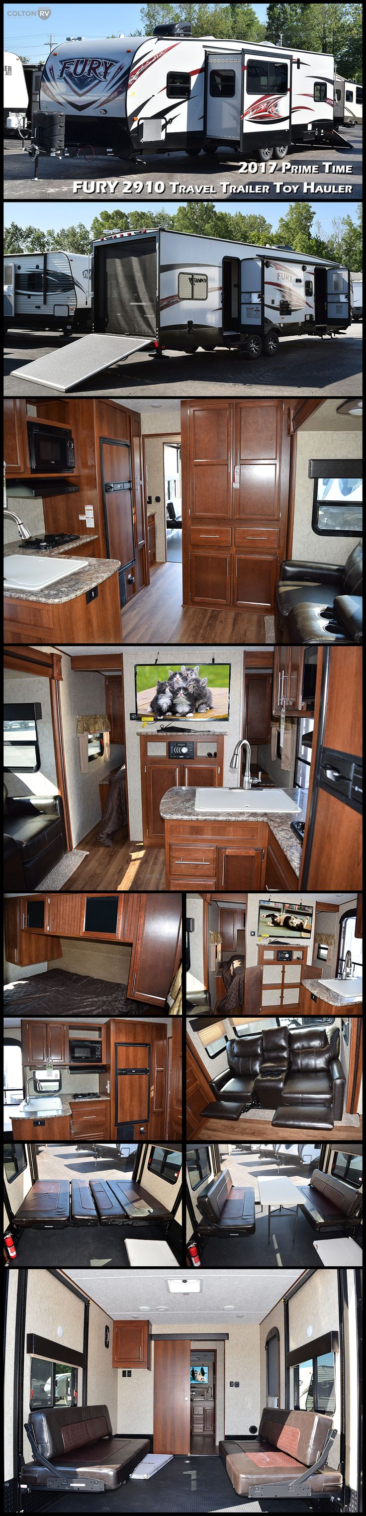 1000 ideas about toy hauler on pinterest keystone rv for Garage prime conversion