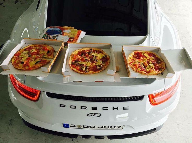 Porsche GT3 & Pizza
