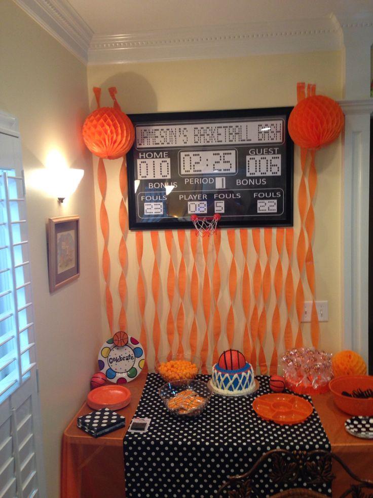 Best 25 Basketball Birthday Parties Ideas On Pinterest