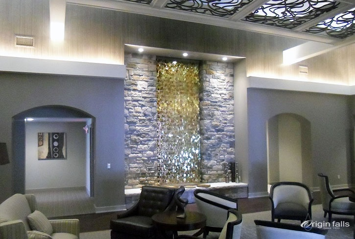 Fine Indoor Waterfalls And Contemporary Water Features