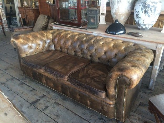 Pin On Chesterfiled Sofa Rustic Luxury