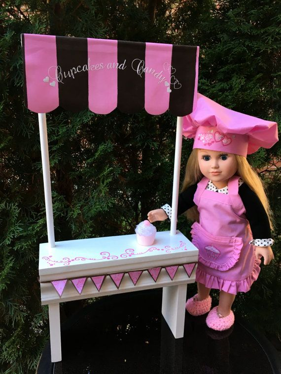 Doll Cupcake Stand