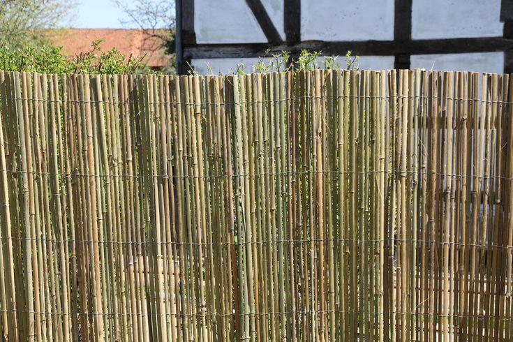 BAMBUSMATTE geschnitten, Als Sichtschutz oder Raumteilungselement. In verschiedenen Maßen Lieferbar.