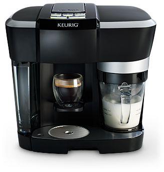 Keurig Rivo Cappuccino/Latte Maker, an amazing revolutionary machine for your kitchen shelf priced just at $199  Tags: #keurig #espresso #cappuccino #latte #coffee #maker