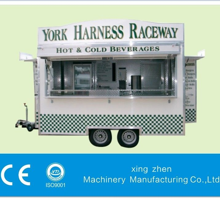 The best  Kiosk Trailer  Competitive price with high quality  Approved with CE and ISO9001   Customized as