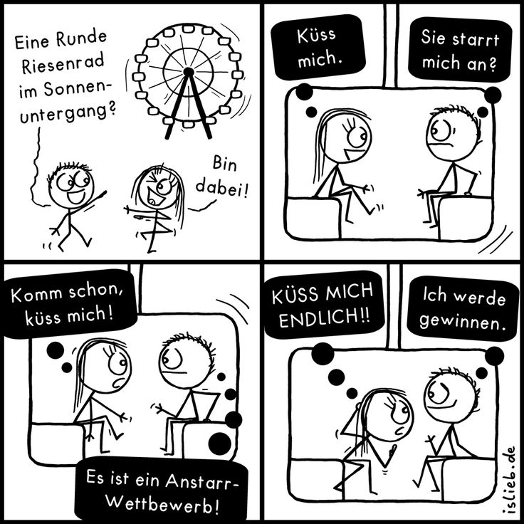 Riesenrad | Text zum Comic: http://islieb.de/riesenrad/2/ | #küssen #islieb