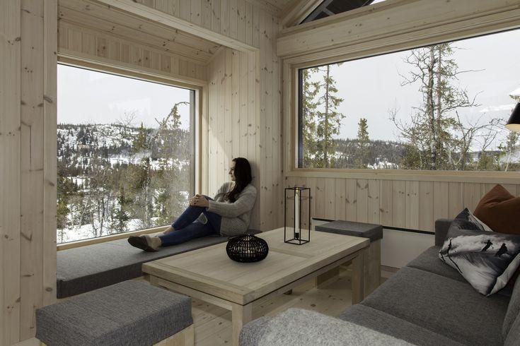 Bilderesultat for nye vinduer hytta før