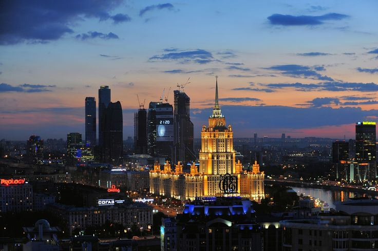 3D Night Show to be Held in Moscow
