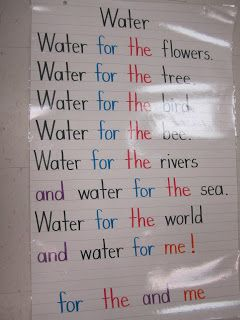 Water via Adriane Fischer via Little Miss Kindergarten onto Science and Social Studies
