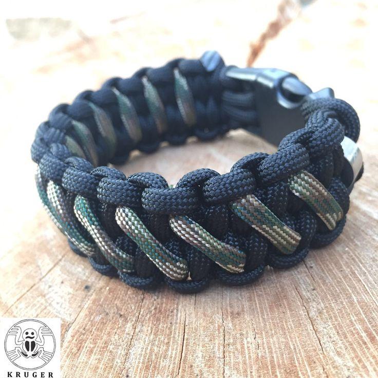 'The Blaze' paracord bracelet