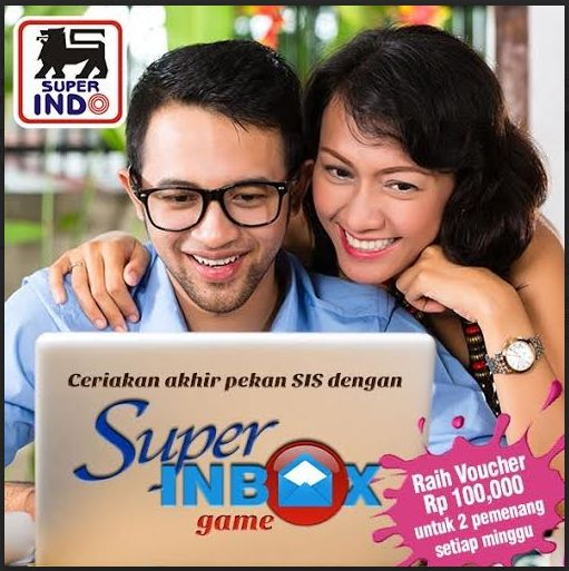 Super Inbox Game Berhadiah Voucher Belanja
