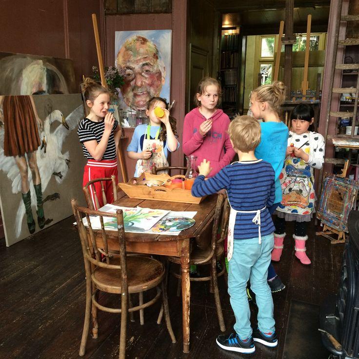 Teken-, en schilderles atelier #Haarlem