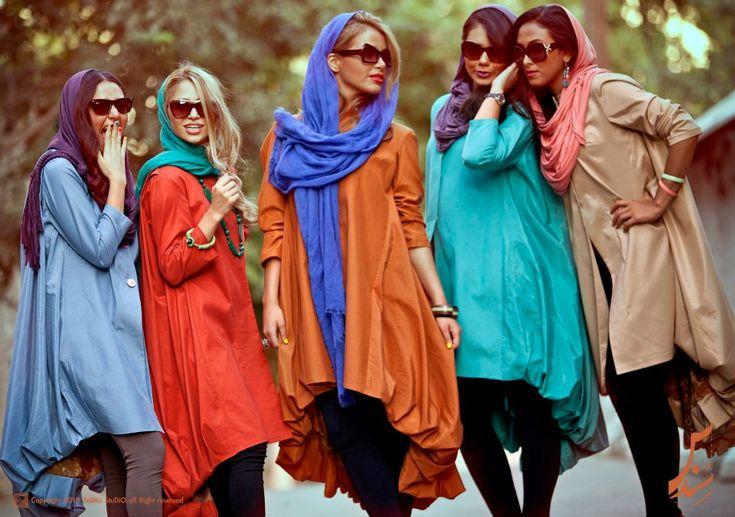 | interesting female #fashion from #iran. like the...