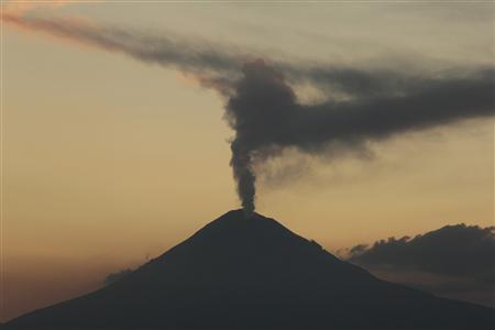 Mexico raises alert for Popocatepetl volcano - Reuters