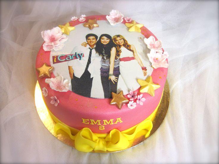 iCarly cake www.kakkuhelmi.fi